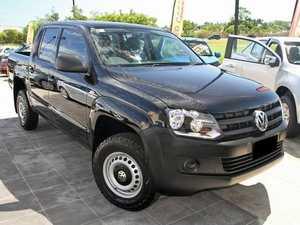 2011 Volkswagen Amarok 2H MY12 TDI400 Black 6 Speed Manual Utility