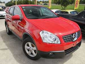 2009 Nissan Dualis J10 MY2009 Ti Hatch Red 6 Speed Manual Hatchback