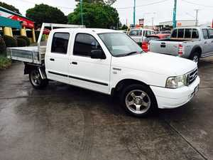 2005 Ford Courier PH XL White 5 Speed Manual Dual Cab