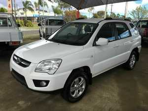 2009 Kia Sportage KM LX (FWD) White 5 Speed Manual Wagon