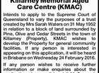 Killarney Memorial Aged Care Centre (KMAC)