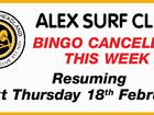 ALEX SURF CLUB BINGO