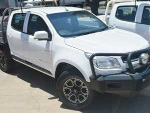 2013 Holden Colorado RG LX White 4 Speed Manual Cab Chassis