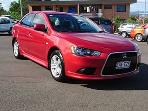 2014 Mitsubishi Lancer CJ MY14.5 ES Sport Red 6 Speed CVT Auto Sequential Sedan
