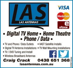 TV and Phone / Data Outlets