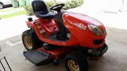 KUBATO Ride-On Mower diesel, GR2100, 356 hrs, all wheel drive, 21hp, 3 cyl, auto, trans', h...