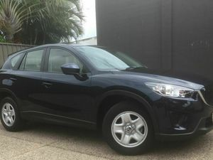 2014 Mazda CX-5 KE1071 Maxx Sky Active Blue 6 Speed Automatic Wagon