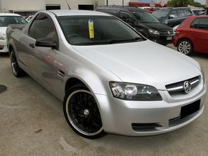 2008 Holden Ute VE Omega Silver 6 Speed Manual Utility