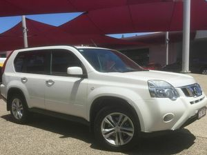 2011 Nissan X-Trail T31 TURBO TS White Automatic Wagon