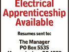 Electrical Apprenticeship Available