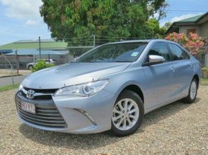 2015 Toyota Camry ASV50R Altise Light Blue Metallic 6 Speed Sports Automatic Sedan
