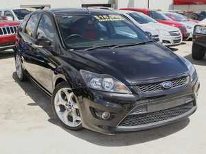 2009 Ford Focus LV XR5 Turbo Black 6 Speed Manual Hatchback