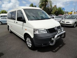 2008 Volkswagen Transporter T5 MY08 Low Roof White 6 Speed Sports Automatic Van