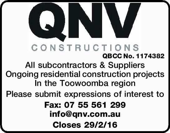 QBCC No. 1174382