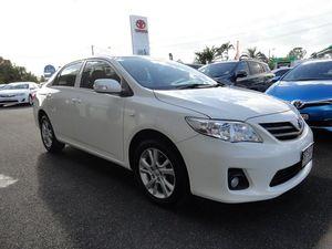 2012 Toyota Corolla ZRE152R MY11 Ascent Sport White 4 Speed Automatic Sedan