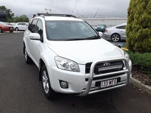 2010 Toyota RAV4 ACA33R MY09 Cruiser White 4 Speed Automatic Wagon