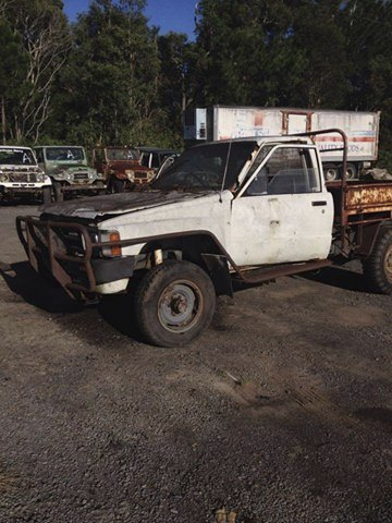 Buying Toyota 4x4s, utes, vans and trucks that suite wrecking/parts only!!  cash on pickup for all m...