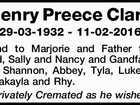 Henry Preece Clark