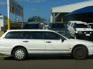 1997 Mitsubishi Magna TF Executive White 5 Speed Automatic Wagon