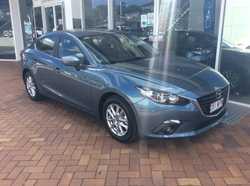 2015 Mazda 3  Blue 6 Speed Sedan
