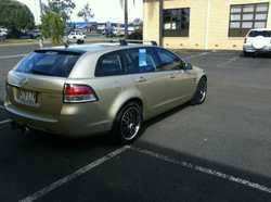 2008 Holden Commodore VE MY09.5 60th Anniversary Sportwagon Gold 4 Speed Automatic Wagon