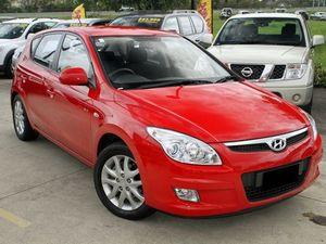 2008 Hyundai i30 FD SLX Red 4 Speed Automatic Hatchback