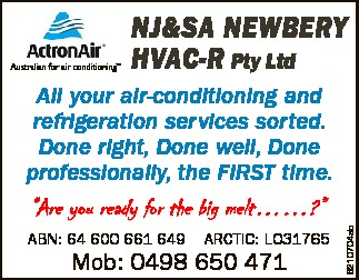 Australian for air conditioning TM HVAC-r Pty Ltd