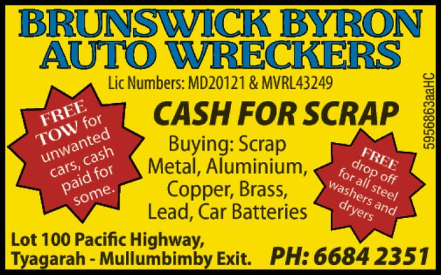 Cash For Scrap Buying: Scrap Metal, Aluminium, Copper, Brass, Lead, Car Batteries