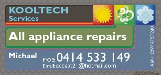 All appliance repairs & Services