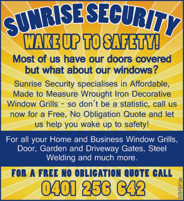 WAKE UP TO SAFETY! 