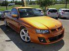 2005 Holden Special Vehicles Maloo Z Series Tiga Mica Orange 6 Speed Manual Utility
