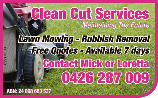 Maintaining The future     Lawn Mowing  Rubbish Removal  Free Quotes ...