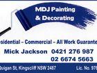 MDJ Painting & Decorating