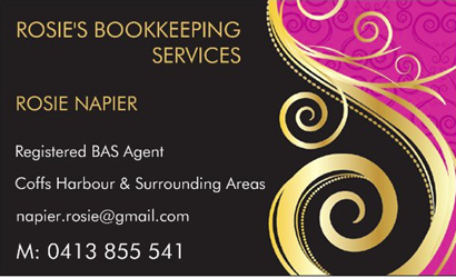 ROSIE NAPIER - Registered BAS Agent Coffs Harbour & Surrounding Areas
