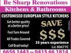 Be Sharp Renovations