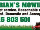 ADRIAN'S MOWING