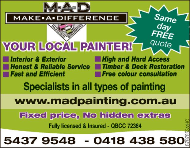 YOUR LOCAL PAINTER!