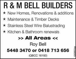 ★ New Homes, Renovations & additions