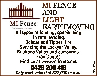 All types of fencing, specialising in rural fencing.