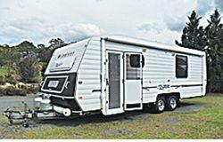 WINDSOR Royale 24', 2006, 150L fridge, ensuite, sep shower & toilet, a/c, TV, lots cupb...