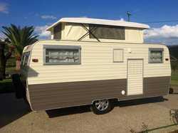 "13""6X7FT  Millard pop top caravan  full annexe  ali frame  single be..."
