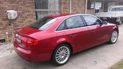 2014 Audi A4 2.0 TDI Quattro, garnet red with black interior , B & O surround sound syst, ada...