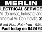 MERLIN ELECTRICAL SERVICES