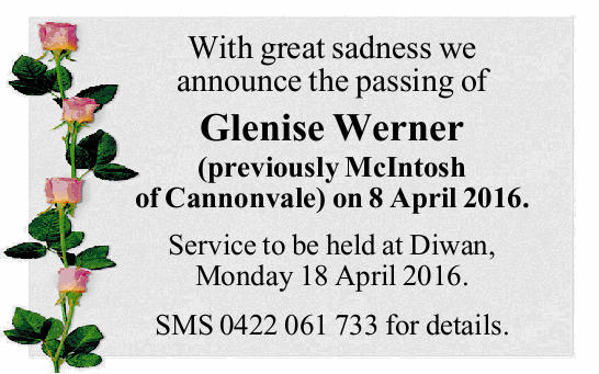 With great sadness we announce the passing of