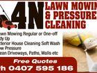 4N LAWN MOWING & PRESSURE CLEANING