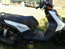 YAMAHA SCOOTER 125cc, unregistered, very good condition, $1900 ono.