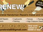 RENEW! BUILDING & PROPERTY MAINTENANCE