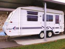 18 FT Jayco Westport, 2001, shwr/tlt, annexe, A/C,  pole/hldrs, mod for comfort & free cpng, TV, ste...