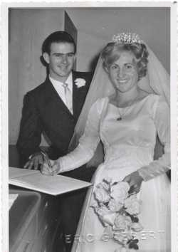 Congratulations to Maurice and Eda Hilliar on their 50th Wedding Anniversary.  Married April 23, 196...