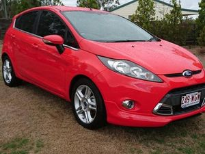 2012 Ford Fiesta WT Zetec Red 5 Speed Manual Hatchback